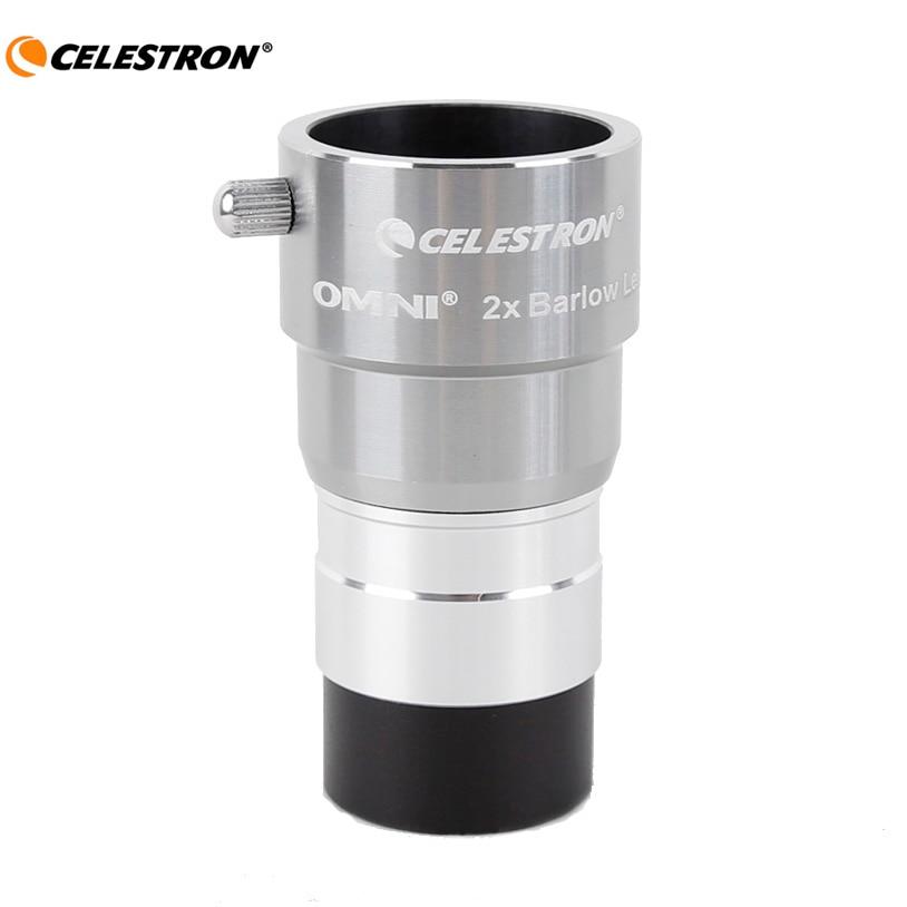 Celestron omni 2x окуляр Барлоу окуляр профессиональный телескоп части 1,25 дюймов 31,7 мм астрономический окуляр не Монокуляр