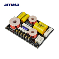 AIYIMA 1PC 150W Speaker Filter Frequency Divider 2 Way Speaker Professional Tweeter Woofer Crossover For 4 8Ohm Horn 2700Hz