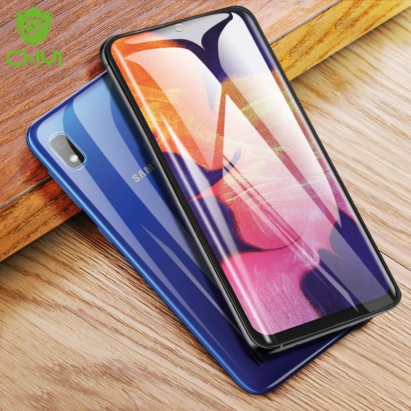 Chyi 3d Zakrzywiona Folia Do Samsung Galaxy A10 M51 Folia Ochronna Na Całą Okładkę Nano Hydrożelowa Folia Z Narzędziami Nie Hartowane Szkło Etui Do Ekranu Telefonu Aliexpress