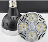 Free Shipping E27 35W Osram PAR30 LED light AC85 265V input USA driving IC 10pcs/lot 3 years warranty