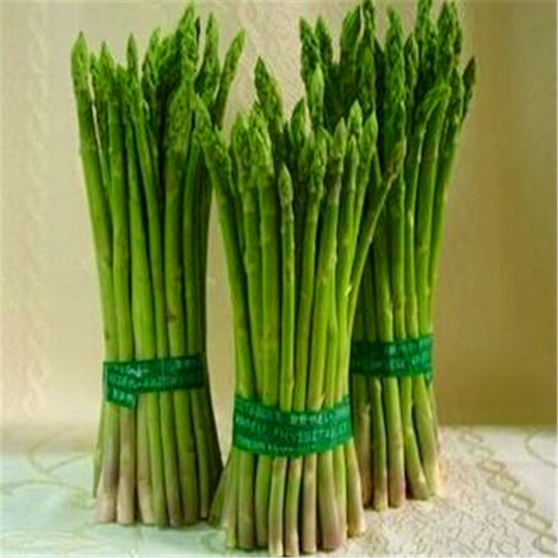 200Pcs Asparagus Organic Heirloom Rare Green Vegetable Perennial Garden Small Luck Bamboo Home Plant Flower Pot Planters 50(China)
