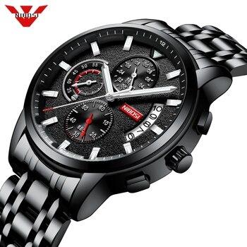 NIBOSI Watch Relogio Masculino Quartz Watch Top Brand  Mens Watches Luxury Waterproof Automatic Date Male Clock Reloj Hombre