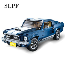 SLPF Technology Series Sports Car Model Kit Building Blocks Brick Children Educational Assembly Boy Toys Compatible Legoing I11