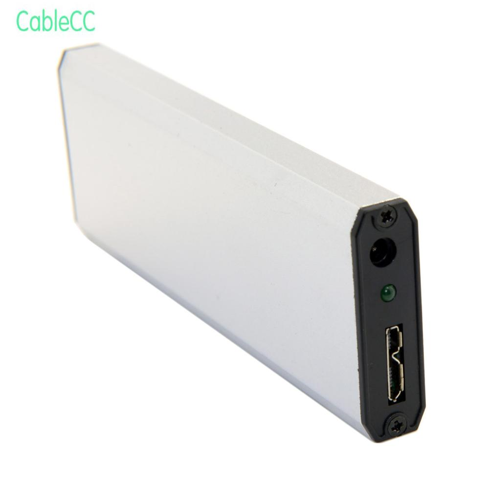 2 pièces/1 pièces USB 3.0 à SATA SSD support pour disque dur boîtier pour ASUS EP121 UX21 UX31 SANDISK ADATA XM11 SSD