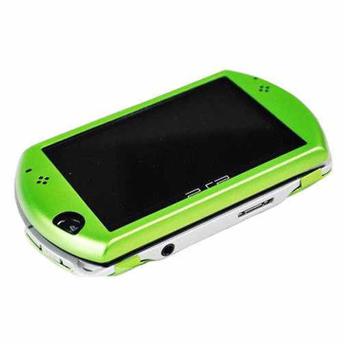 Green Protector Aluminum Travel Carry Hard Shell Case Cover Skin Pouch for Sony PSP GO