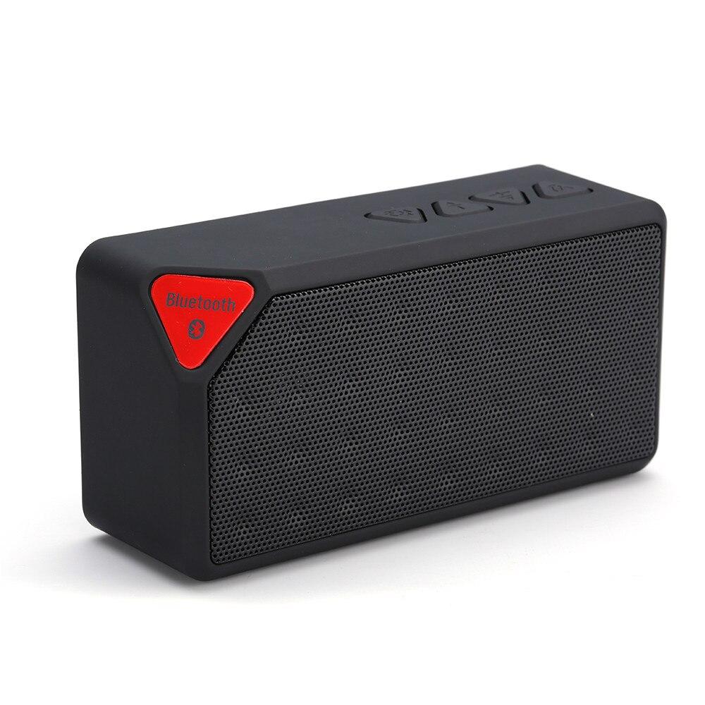 Mini Bluetooth Lautsprecher X3 Mode-stil TF USB Drahtlose Tragbare Musik-sound-box Subwoofer Lautsprecher mit Mic