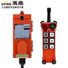 12 V 24 V 36 V 110 V 220 V 380 V AC/DC UHF 425-446 MHZ промышленный беспроводной пульт дистанционного управления F21-E1 для подъемного крана