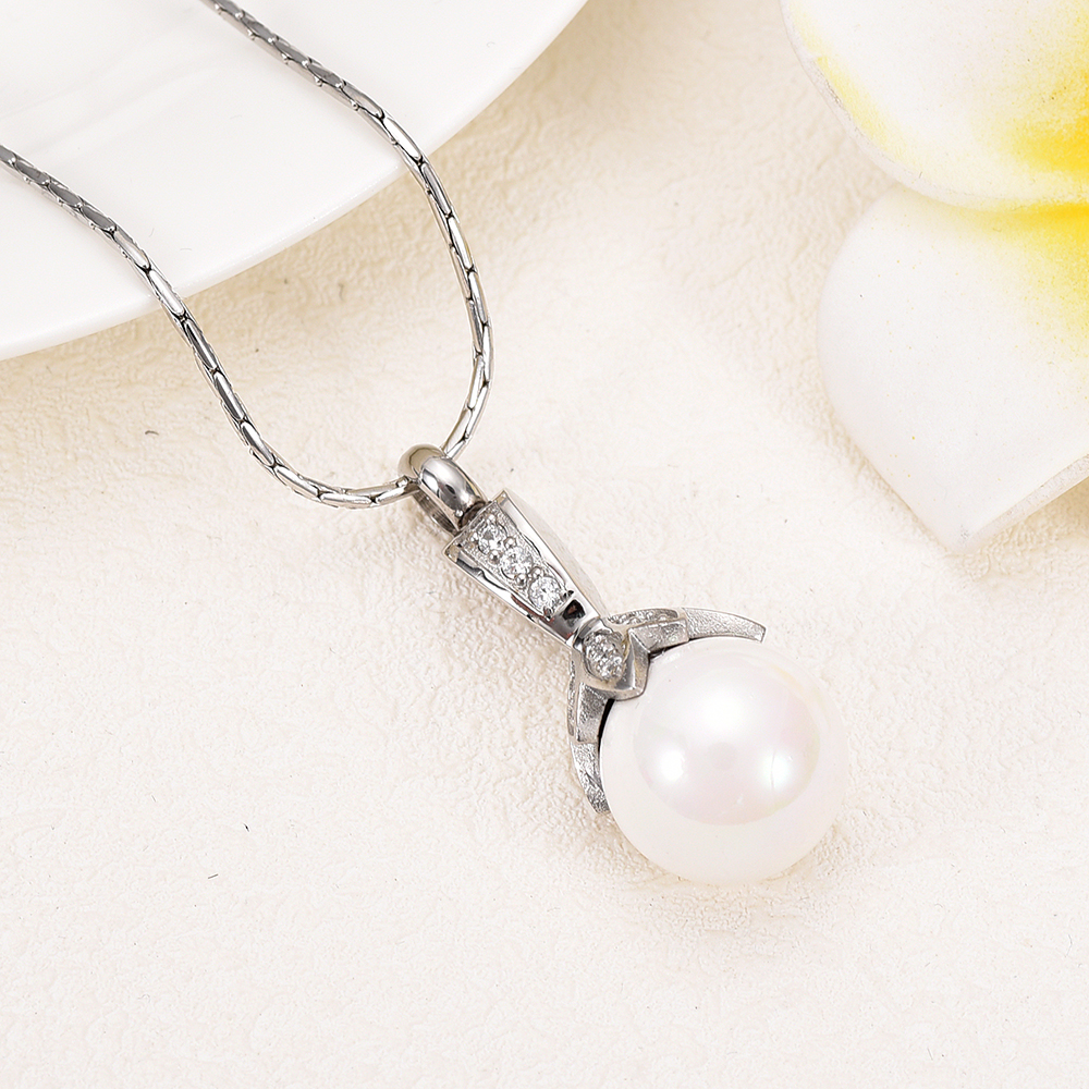 Pearl Cremation Necklace