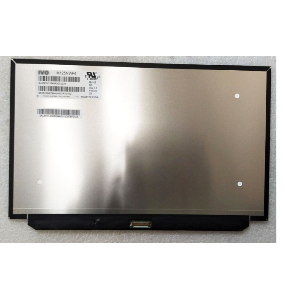 LCD Screen M125NWF4 R3 Matrix for Laptop 12 5 FHD 1920X1080 Glossy 30Pin Replacement