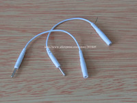 20 Pairs Lot Needle Type Electric Wire 2 00mm Pin 2 5mm Conversion For Digital TENS