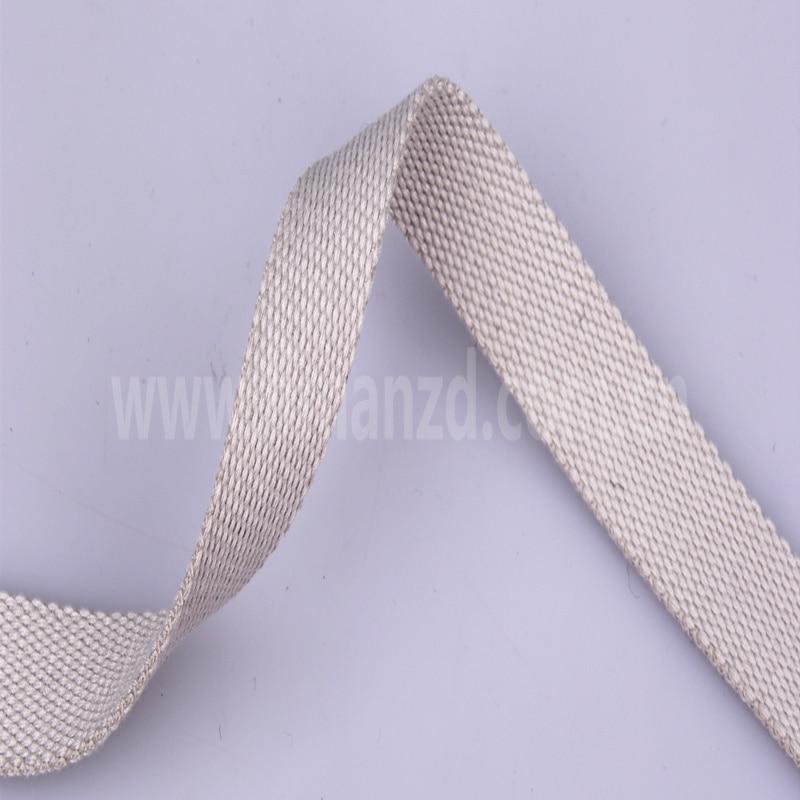 Prodaje se 1,2-inčni sivi bijeli pamučni remen za muškarce, - Umjetnost, obrt i šivanje - Foto 2