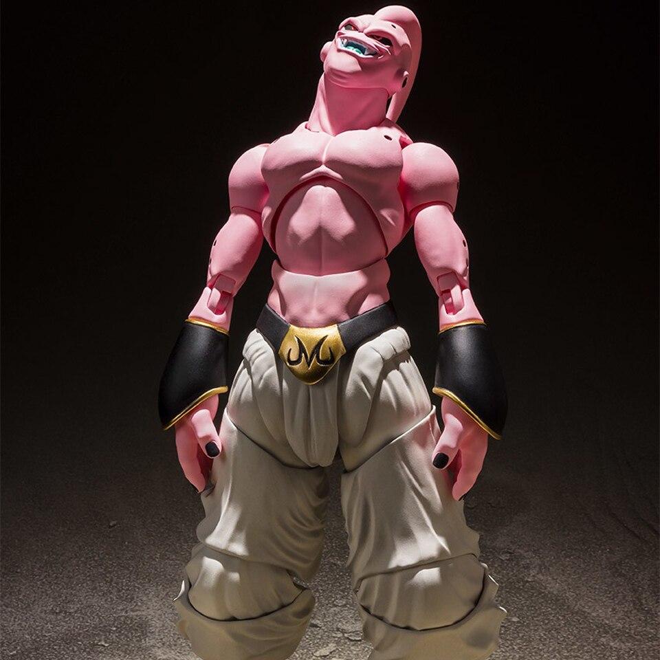 Tronzo Original Bandai Tamashii Nations S.H. Figuarts Majin Buu SHF Gotenks costume Dragon Ball Z Evil Buu PVC figurines jouets