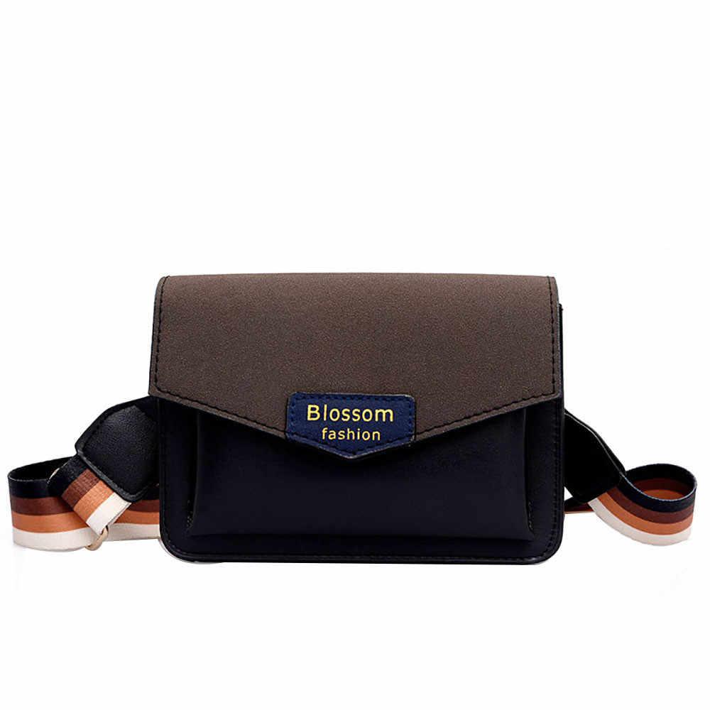 OCARDIAN Shoulder Bags Women Joker Color Single Shoulder Slung Multi-layer  Wide Shoulder Strap Bag e89f5b4aab431