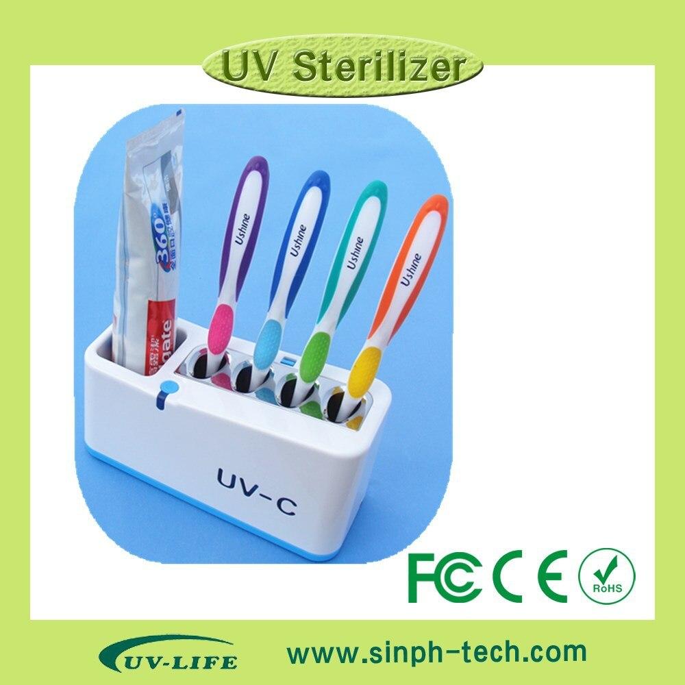 ФОТО oral hygiene plastic toothbrush holder uv sterilizer