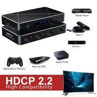 Sgeyr 4 포트 uhd hdmi 2.0 스위치 4 k 3d 4x1 hdmi 스위처 4 in 1 out hdmi 어댑터 60 hz hdcp 2.2 1080 p for ps4 pro dvd 노트북 pc