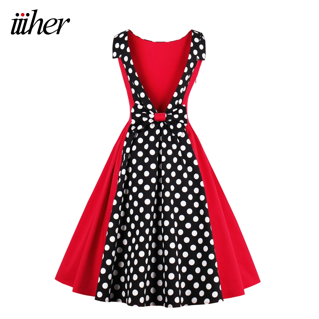 Where to buy christmas dresses - Iiiher Vintage Print Floral Sexy Sleeveless Robe Womens Spring Summer Casual Office Party Ladies Dresses Christmas