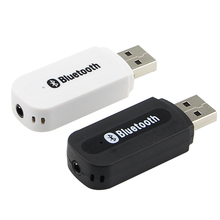 Wide use USB Wireless Music Audio Receiver Dongle Adapter 3.5mm Jack Audio Cable for Aux Car Iphone speaker mp3 bluetooth a