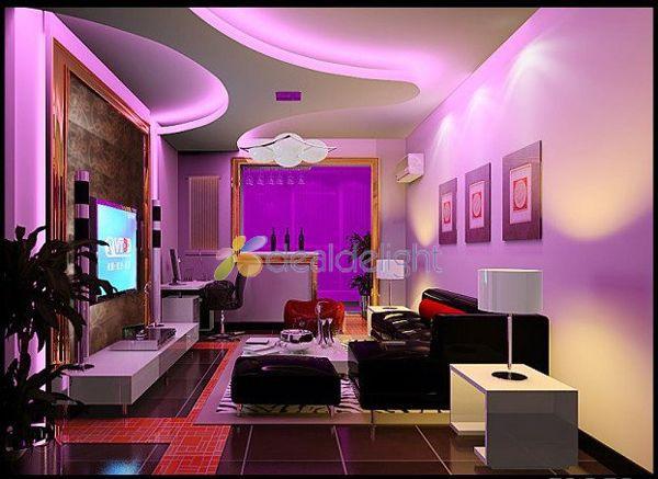Pink LED Strip Light SMD 5050 60LED / M шамдары DC12V - LED Жарықтандыру - фото 5