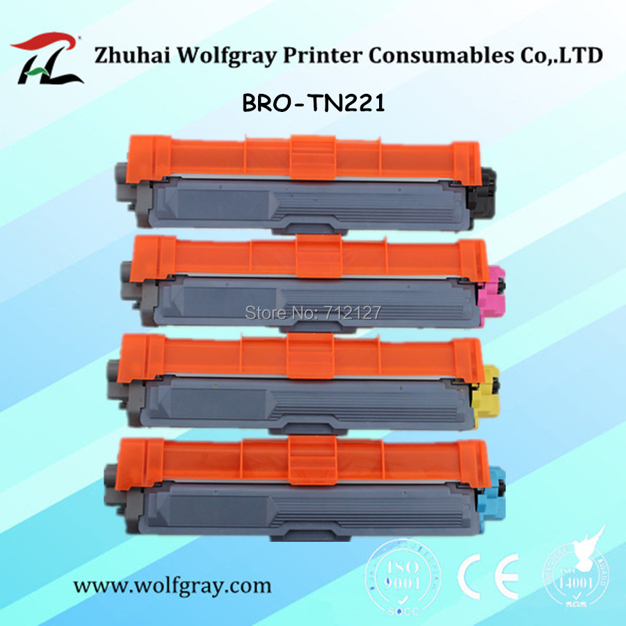 1PK TN221 Black Toner Cartridge Compatible For Brother HL-3140CW Printers