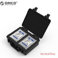 ORICO PSC L2 Dual Bay 3 5 Inch Hard Drive Protection Case Water Proof Shock Proof