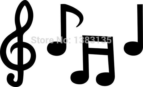 notas musicais silhueta janela do carro adesivo para auto rock and roll clip art images rock and roll clip art free