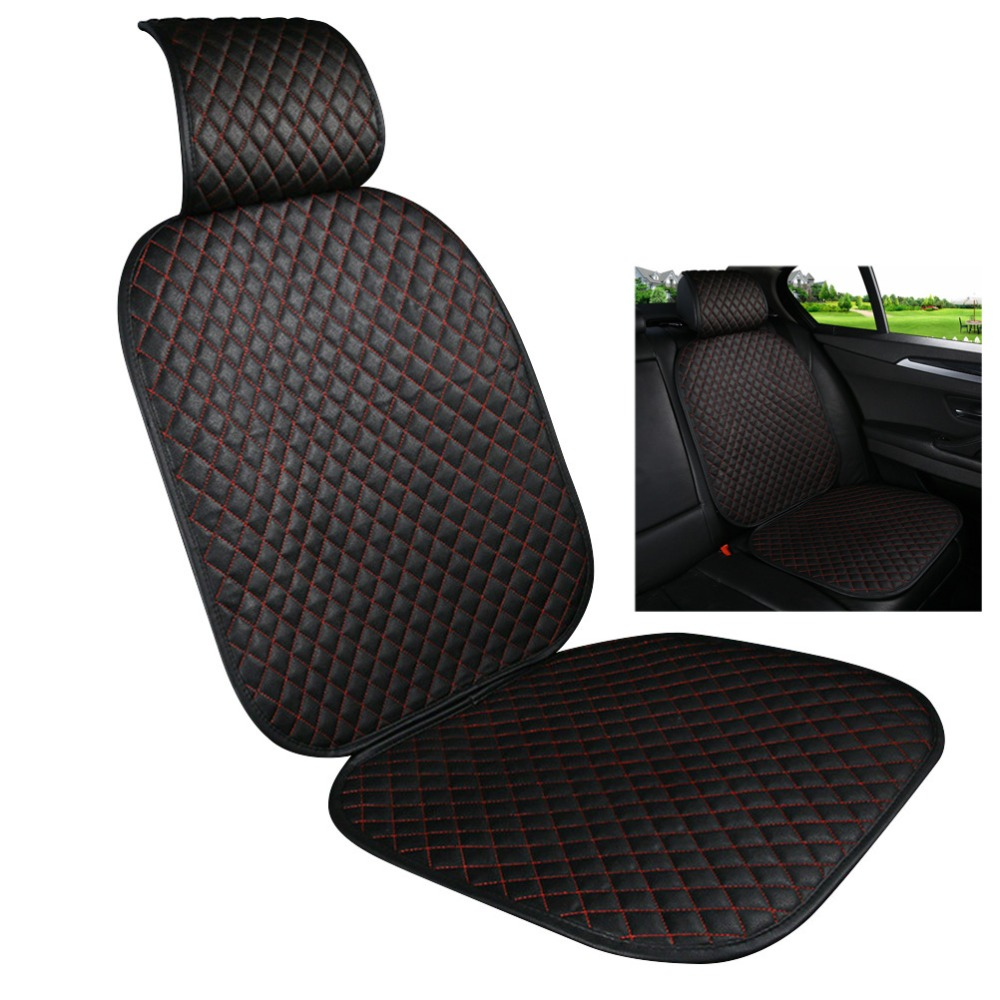Auto Car Seat Protector Car Seat Cover Pad for Baby Leather Upholstery Universal Anti-Slip Waterproof Seat Cushion Cover