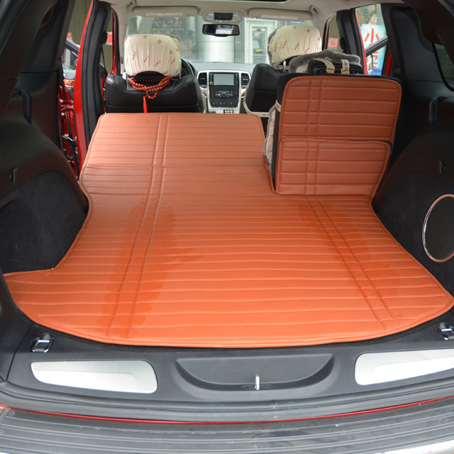 after importation car trunk mat + second row back pad for Grand ...