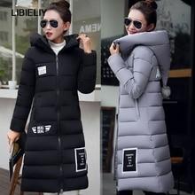 Nice New Fashion Down  Parkas Warm Winter Coat Women Light Thick Winter Hooded Elegant Casual Long Sleeve Jackets Women Coat