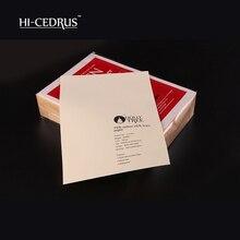 Купить онлайн 85gsm 75% хлопок 25% лен бумаги с красные и синие волокна, банк бумага для заметок, цвет слоновой кости, a4 (210*297 мм), (LYYT041)