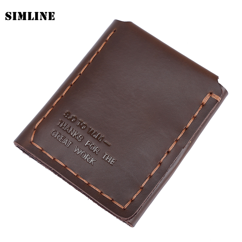 The Secret Life Of Walter Mitty Wallet Men Genuine Leather Vintage Wallet Handmade Natural Cowhide Leather Purse Wallets jay ahr платье из вискозы и шелка