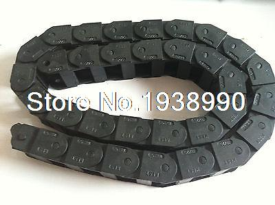 Cable drag chain wire carrier 18*37mm R38 1000mm (40) best price 25 x 57 mm l1000mm cable drag chain wire carrier with end connectors for cnc router machine tools