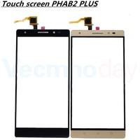 Vecmnoday 2 pz Touch Screen Digitizer Lente del Sensore Touch Panel Vetro per Lenovo PHAB2 PHAB 2 Più Parti di Ricambio + 3 M colla