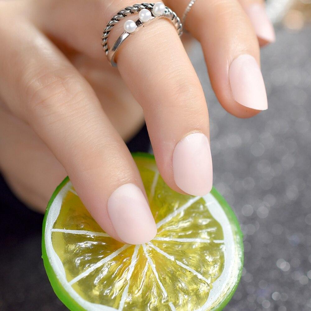 Dorable Short Acrylic Nails That Look Natural Photos - Nail Art ...