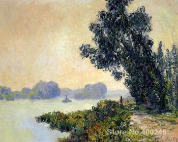 Canvas Art online Claude Monet Paintings The Towpath At Granval2 High quality Hand painted