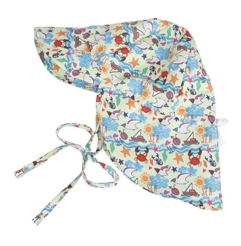 ขายส่ง drop shipping เด็กสัตว์พิมพ์ครีมกันแดดหมวกกลางแจ้งหมวกเด็กน่ารักหมวกนุ่มหมวก sun yw0411