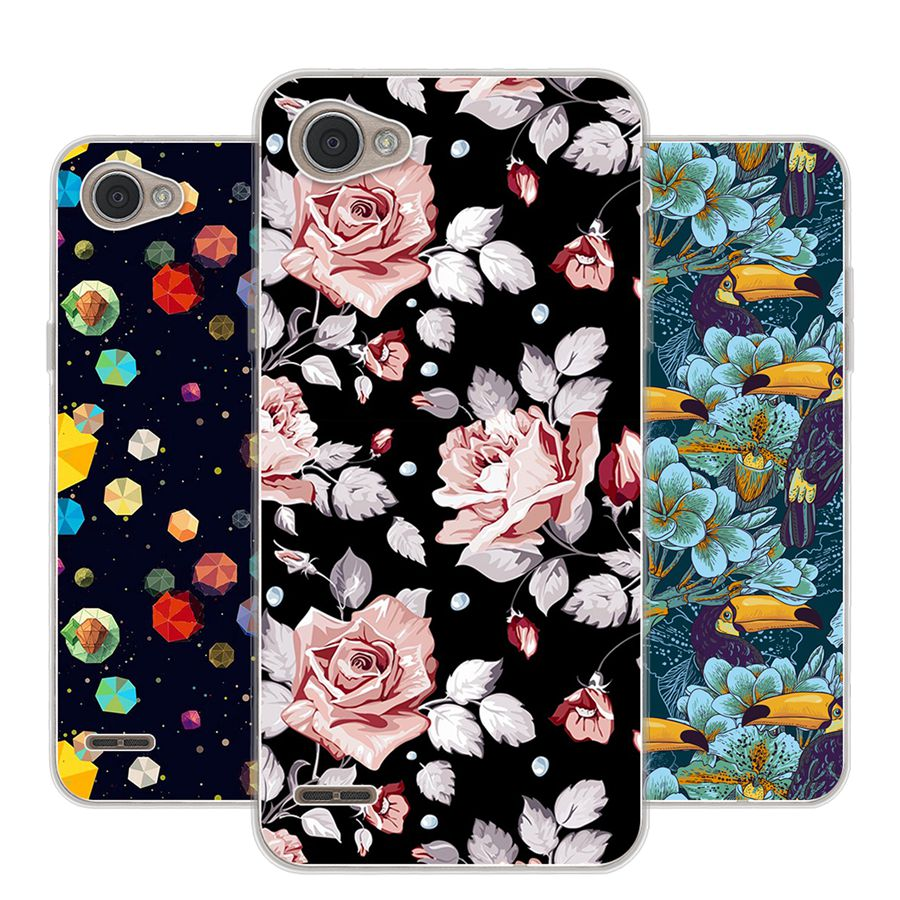 For LG Q6 Case Soft TPU Case for LG Q6 plus Cover Silicone . 740543651a54