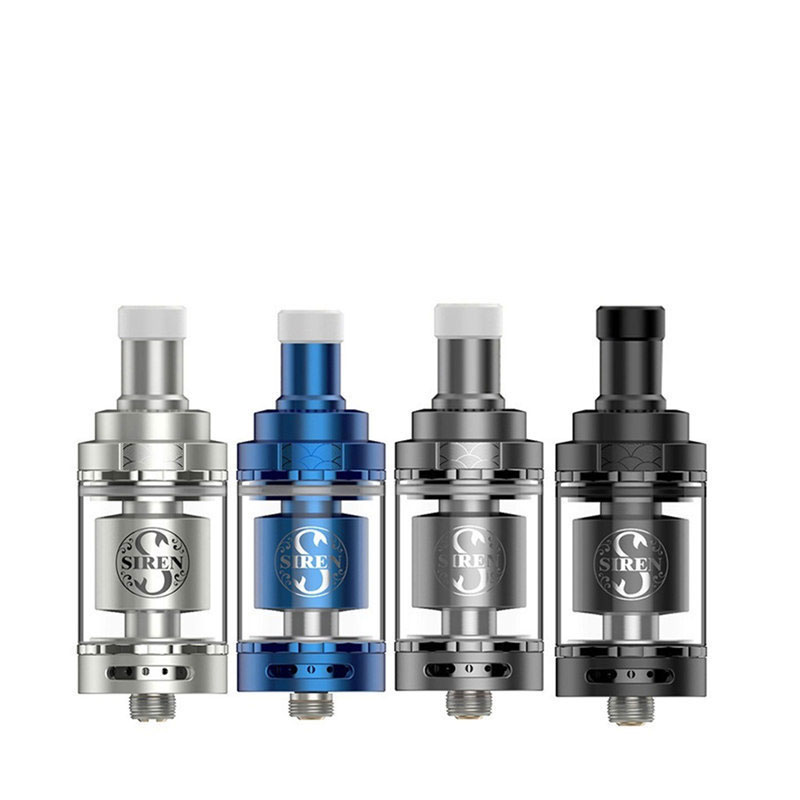 Digiflavor Siren V2 GTA MTL Tank 24 Version 4.5ml Genisis Tank Atomize  24mm update siren 25 DF siren 2 atomizer