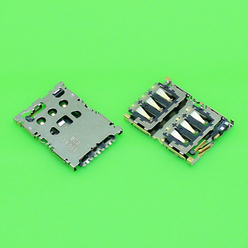 ChengHaoRan 1 Piece new replacement for HTC Desire 820 D820U D820T 820T sim card socket reader tray holder slot module.KA-163