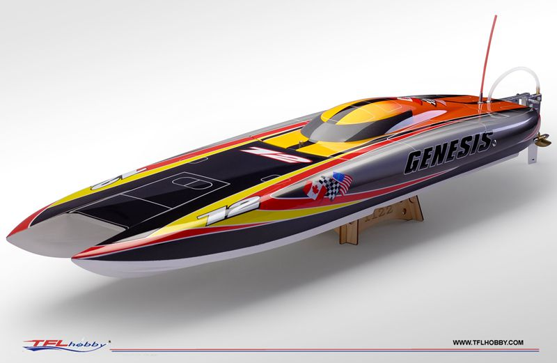 US $169 9 |Genesis 1122 Catamaran Racing Boat/ Fiberglass Hull with  finishing painting-in RC Boats from Toys & Hobbies on Aliexpress com |  Alibaba