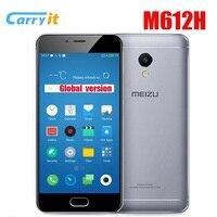 Original Meizu M5s M612H 3GB 16G Global Version OTA 5.2'' HD Cell phone Fingerprint Mobile Phone Fast Charging