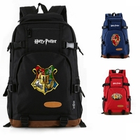 Harry Potter Magic Women Men School bags Casual backpack Teenagers Students School Shoulder Travel bag Laptop Backpack