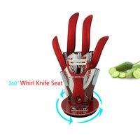 Beauty Gifts Brand High Quality 6 Piece A Set Zirconia Kitchen Set Ceramic Knife Tool Set