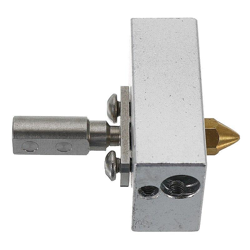 Alta calidad 1.75mm inoxidable zortrax M200 calefacción kit con calefacción bloque y boquilla garganta para 3D impresora