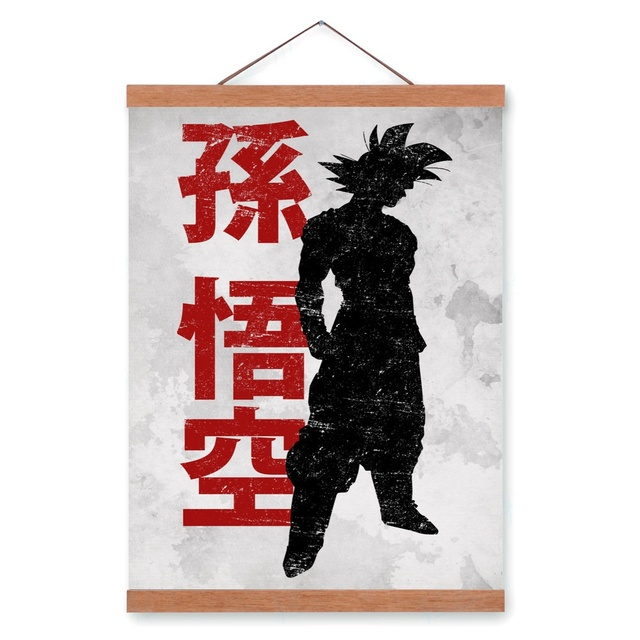 Dragon Ball Z Saiyan Vejiit Wooden Framed Canvas Painting Home Wall Art  Print Pictures Poster Hanger