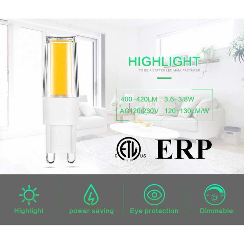 LKLTFX 100 Uds productos 2508 AC110V 220V 3W LED lámpara bombilla de cerámica vela luz cool led decoración del hogar - 3
