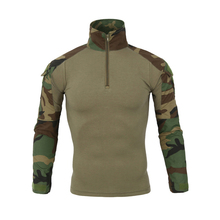 2019 New Army Tactical Military Uniform Camouflage Combat-Proven Shirts Rapid Assault Long Sleeve Shirt Battle Strike Uniforms