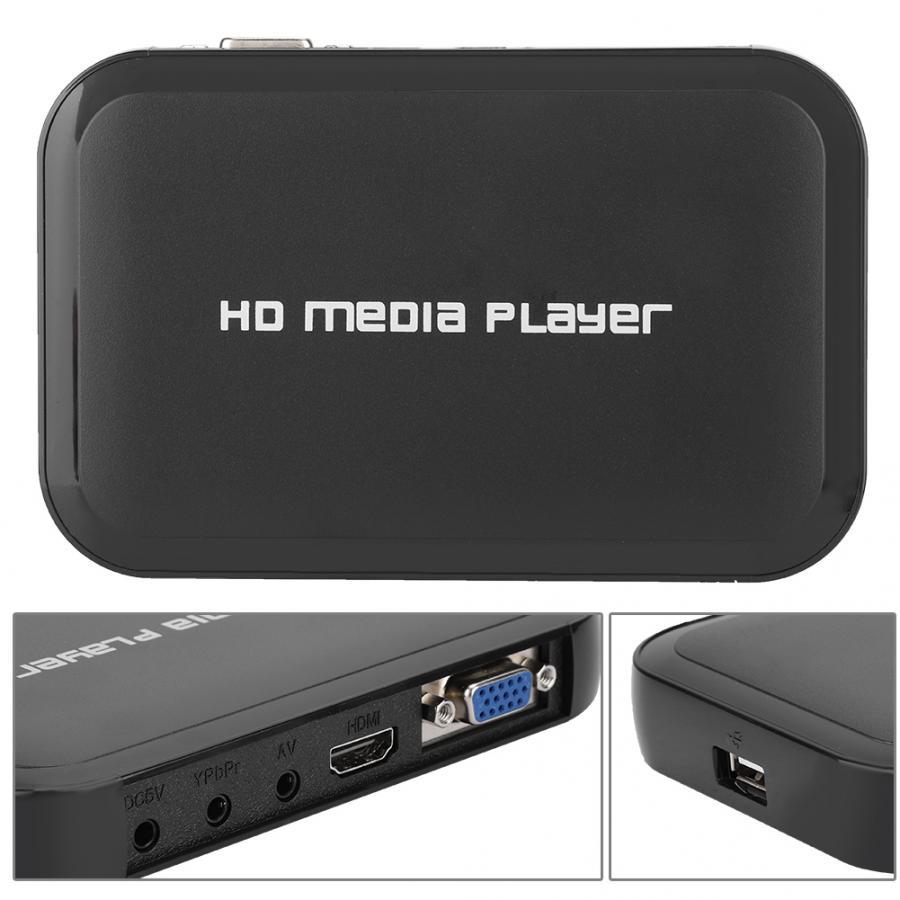 Lecteur multimédia Hdd Disco Duro Externo multimédia 1080 P Mini lecteur multimédia M3 HD lecteur de disque dur vidéo 100-240 V