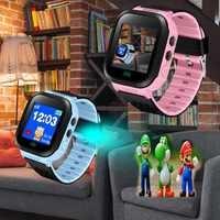 BANGWEI Anti Verloren OLED Art GPS Tracker SOS Smart Überwachung Gps-positionierung Telefon Kinder GPS Baby Uhr Kompatibel IOS