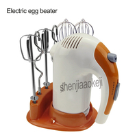 220v 300w 1pc Handheld whisk electric blender mixer food machine egg stirring household mixing machine dough mixer with 6 tools