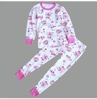 Spring Cotton Kids Long Johns Kids Thermal Underwear For Boys Girls KU 1518
